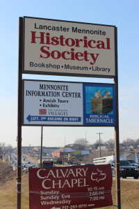Lancaster County Historical Society Sign March 8, 2014