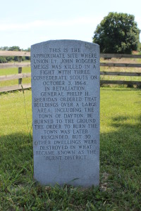 John Meigs Marker Dayton Virginia
